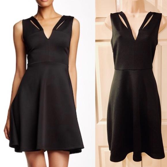 Catherine Malandrino Dresses & Skirts - Catherine Malandrino Cutout Fit & Flare Dress NWT